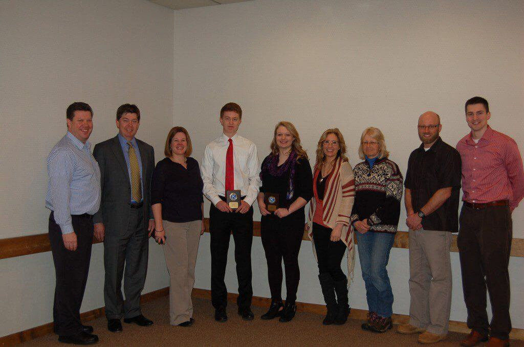 Skiers Named Athletes of the Month
