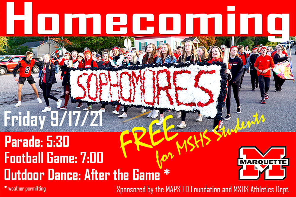 MSHS Athletics Partners With MAPS Education Foundation To Provide Free Homecoming For MSHS Students